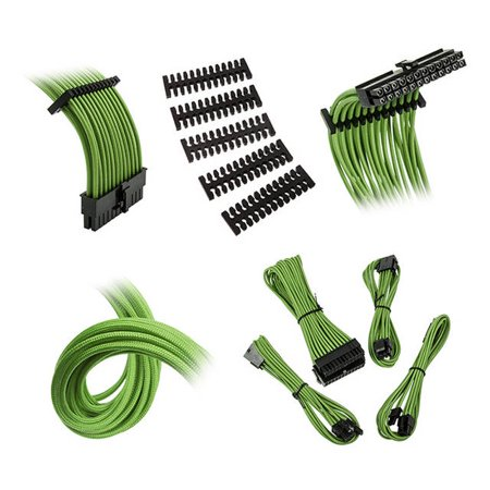 Extension Cable Kit - Bitfenix Alchemy 2.0 Extension Cable Kit - NV Green (BFX-ALC-EXTNV-RP)