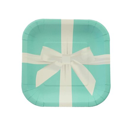 Favorite Blue Present Box Themed Girls Birthday Party Decorations And Supplies