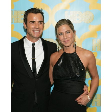 Justin Theroux Jennifer Aniston At The After-Party For Hbo After Party For The Golden Globe Awards 2015 - Part 2 Circa 55 Restaurant At The Beverly Hilton Hotel Beverly Hills Ca January 11 2015 Photo