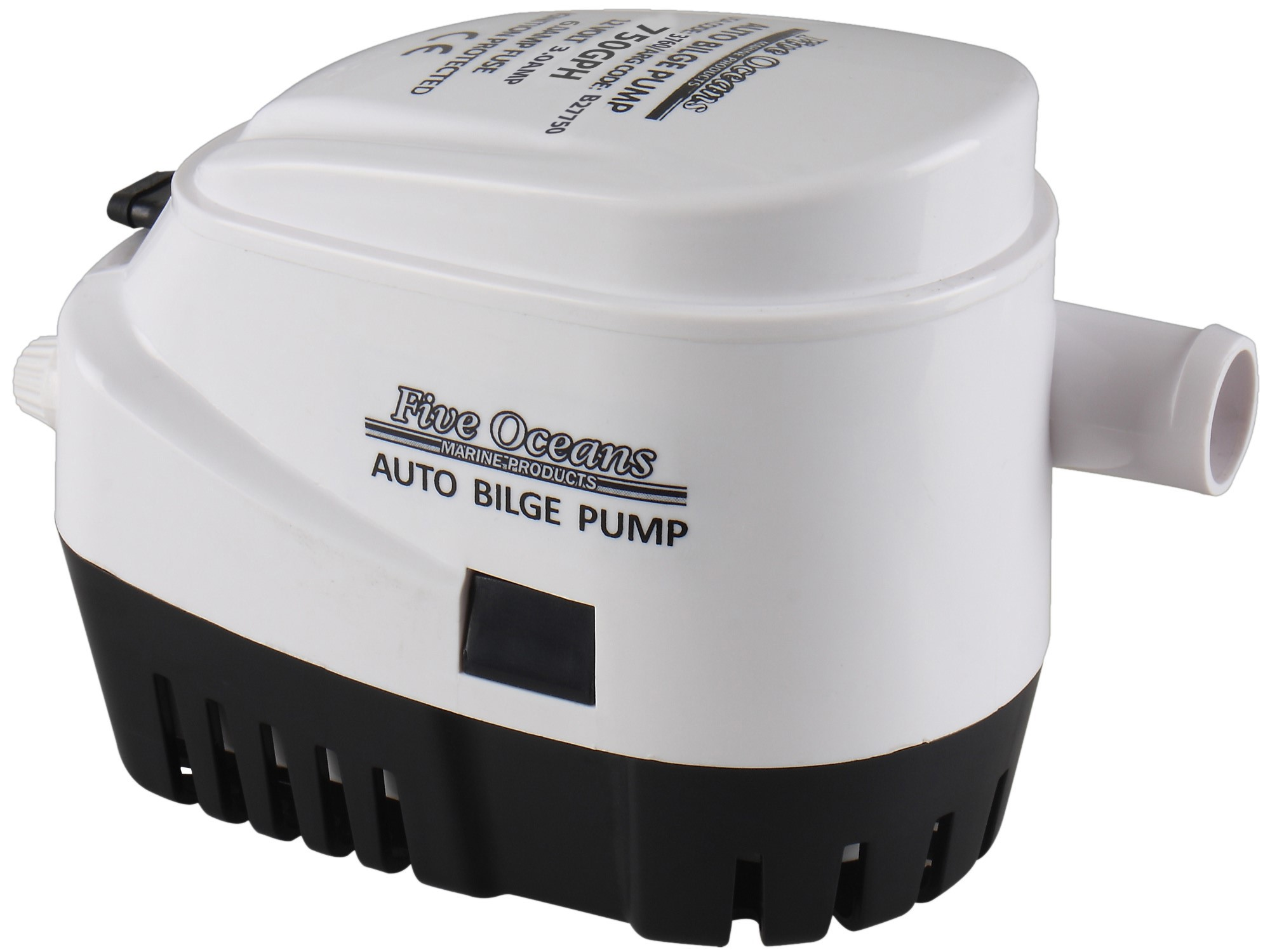 750gph 12v Electric Marine Automatic Bilge Pump (Boat, Caravan, Rv)� Five Oceans by Seaflo by
