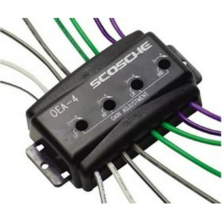 SCOSCHE OEA4 - OEM AMP INTERFACE 80Wx4