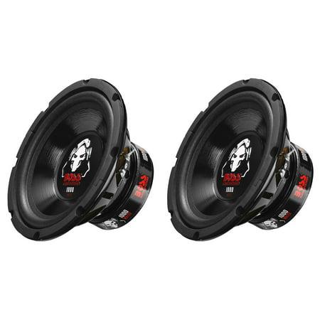 - Boss Audio 8-Inch Dual Voice Coil 4-Ohm 1000-Watt Car Subwoofer (2 Pack) P80DVC