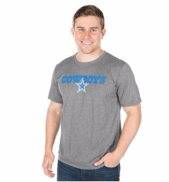 Dallas Cowboys Youth Slayer Short Sleeve Charcoal T-Shirt