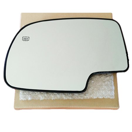 Lh Power Heated Mirror - Silverado Gm Sierra 1500 2500 3500 99 - 07 Power Heated Mirror Glass Lh 88986362, This mirror glass is a high quality replacement for your.., By AutoTruckMirrorsUnlimited from USA