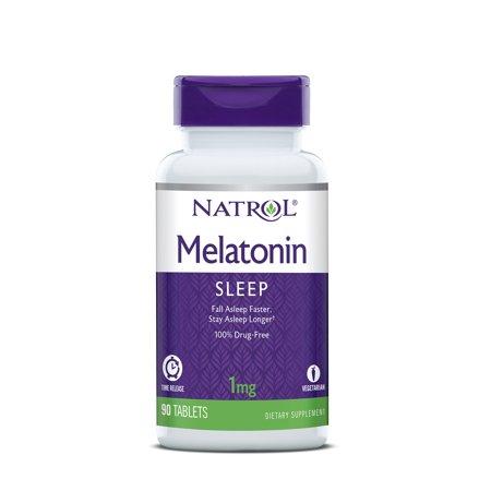Natrol Melatonin Time Release Tablets, 1mg, 90 - Natrol Melatonin Time Release
