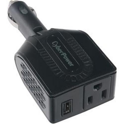 Cyberpower Mobile Power Inverter 100W with USB Charger and Swivel Head CPS100BU