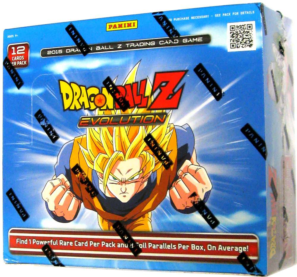 Dragon Ball Z Collectible Card Game Evolution Booster Box by Panini