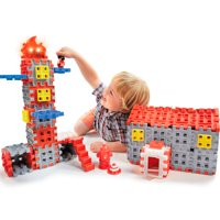 Little Tikes Waffle Blocks- Fire & Rescue