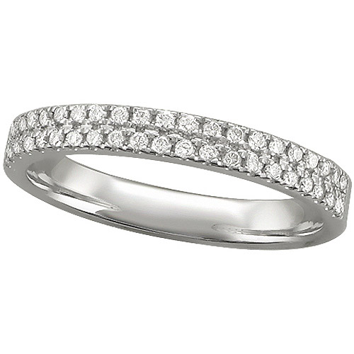 Forever Bride 1/3 Carat T.W. Diamond Sterling Silver Anniversary Ring