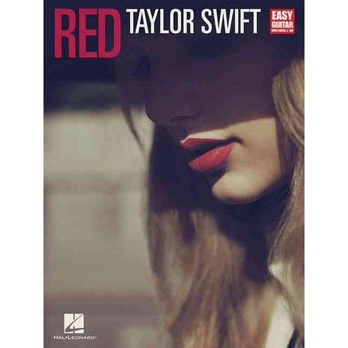 Red: Taylor Swift, Easy Guitar with Notes & Tab
