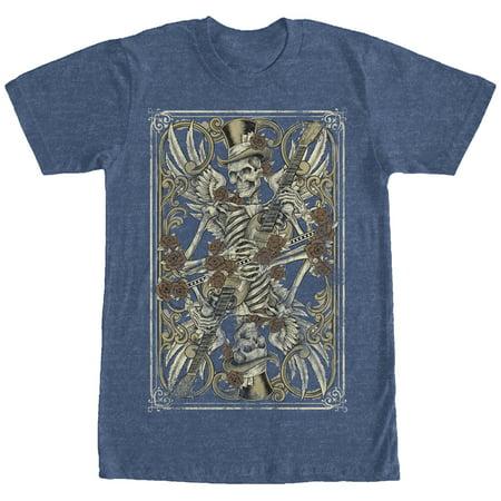 Men's Skeleton Guitar T-Shirt - Guitar Skeleton