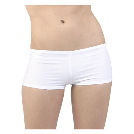 Sexy White Lycra Hot Pants Sexy Leather Hot Pants