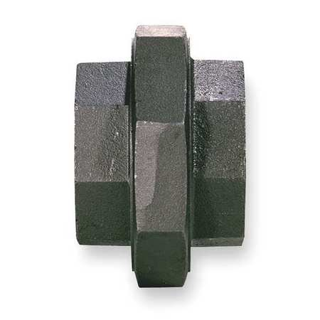 "Value Brand 3/8"" FNPT Black Malleable Iron Union, 5P590"