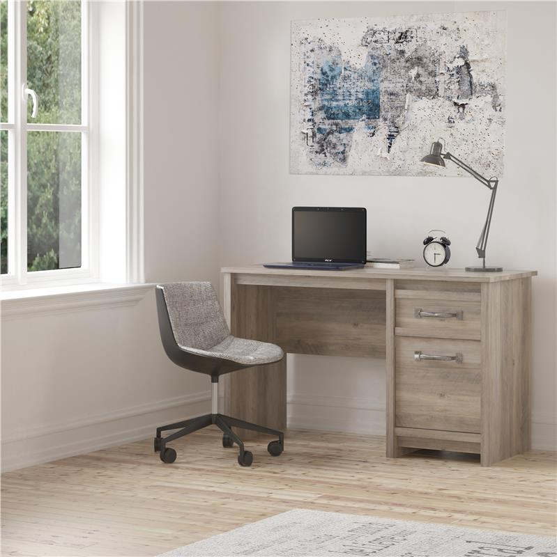 Better Homes & Gardens Emory Computer Desk, Gray Oak