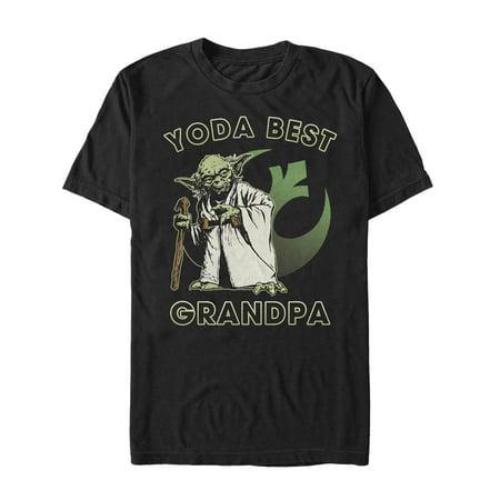 Star Wars Men's Yoda Best Grandpa T-Shirt