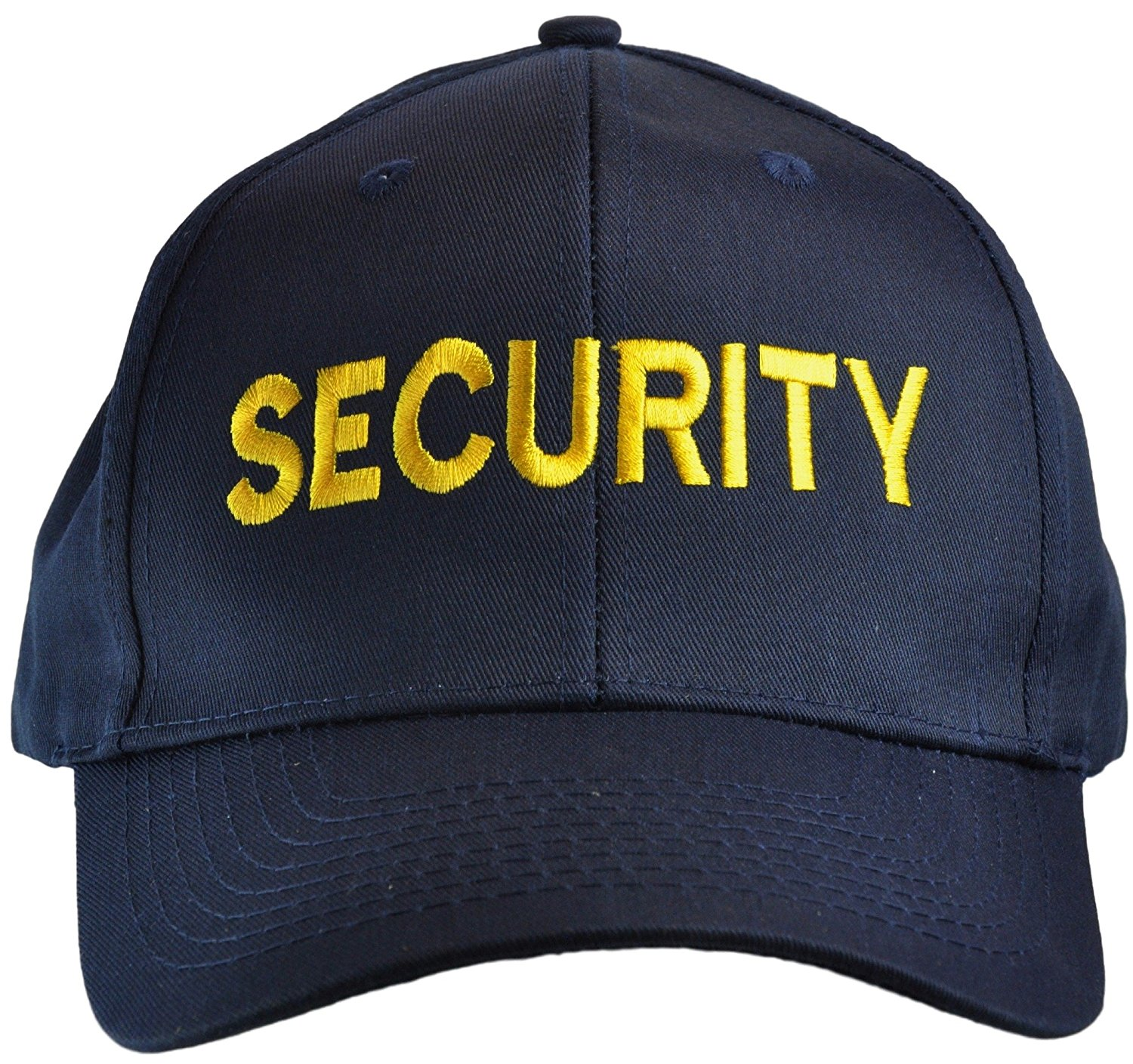 Tactical 365? Operation First Response Police or Security Embroidered Cotton Twill hat - Gold on Navy, Security