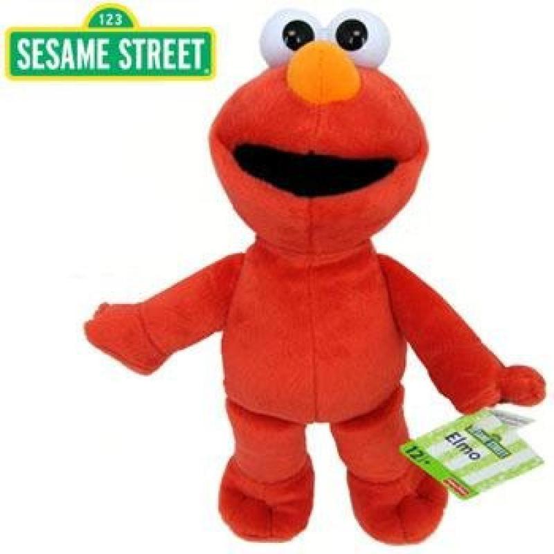 "Sesame Street Elmo Plush 12"" by"