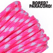 Bored Paracord Brand 550 lb Type III Paracord - Fasionista 1000 Feet