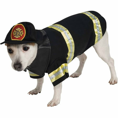 Firefighter Halloween Pet Costume (Multiple Sizes