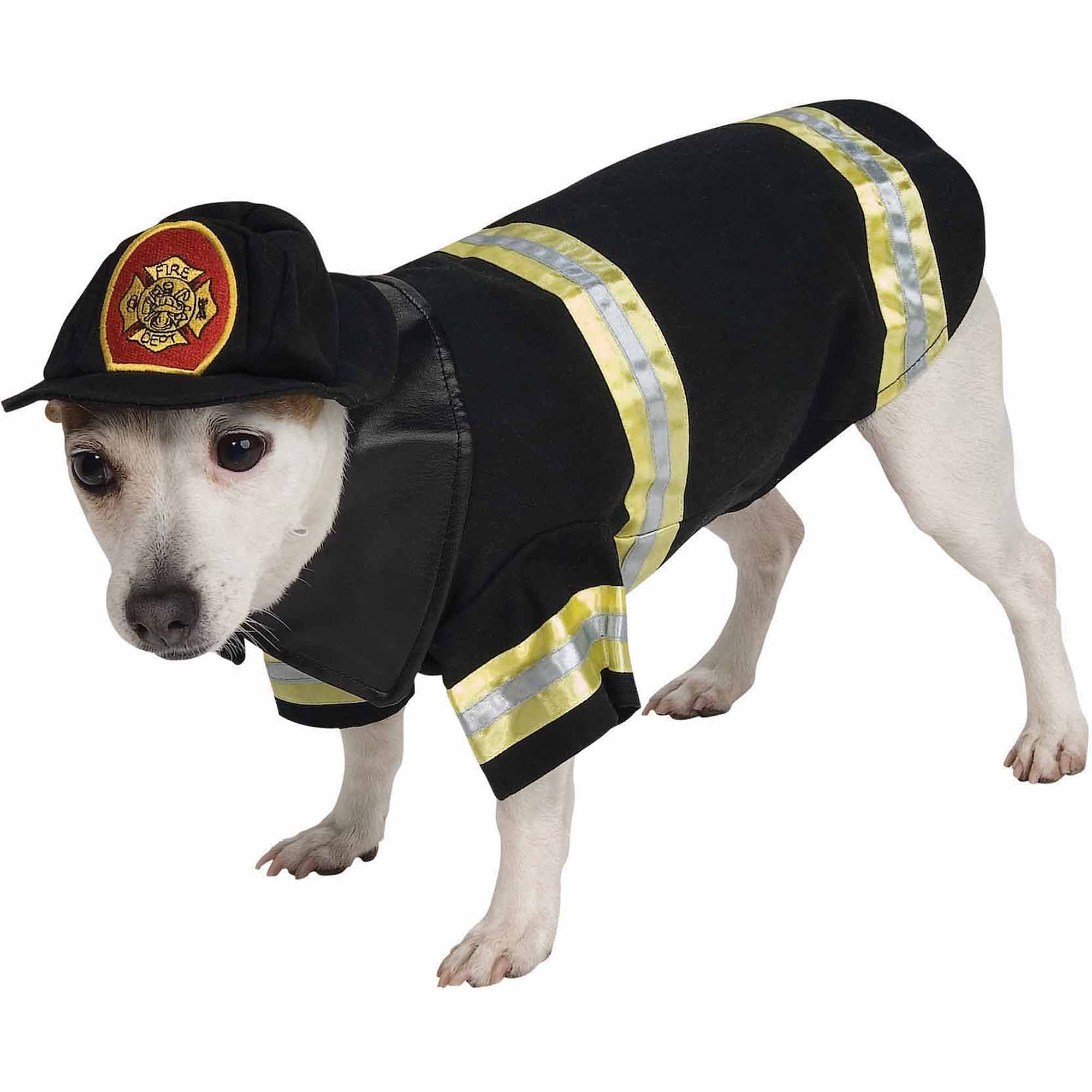 Firefighter Halloween Pet Costume (Multiple Sizes Available)