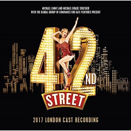 42nd Street: 2017 London Cast (Original Cast Recording) (CD)](2017 Halloween Soundtrack)