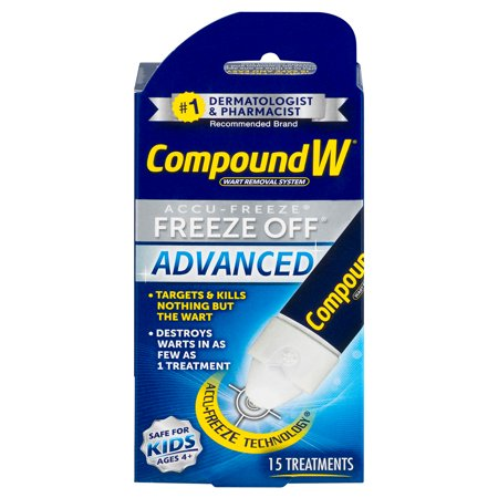 Compound W Accu-Freeze Freeze Off Advanced Wart Removal, 15