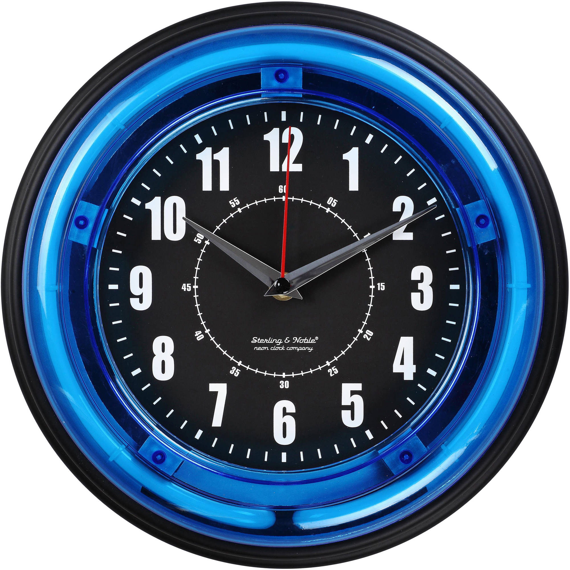 La Crosse Technology Equity 8 Black Wall Clock Walmartcom