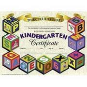 Hayes Kindergarten Certificate, 8-1/2 x 11 in, Paper, Pack of 30