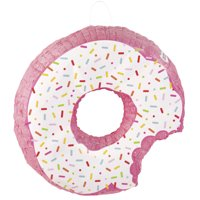 Donut Party Pinata, Pink, 19.5 in