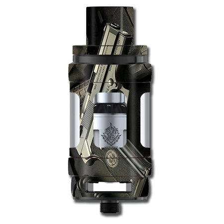 Skin Decal For Smok Tfv12 Cloud Beast King Tank Vape Mod / Edc Pistol Flashlight