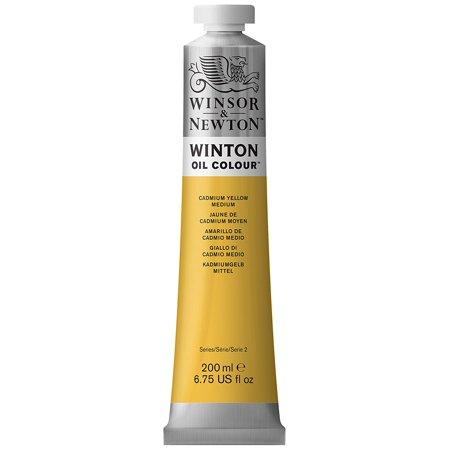 Winsor & Newton - Winton Oil Color - 200ml Tube - Cadmium Yellow Medium