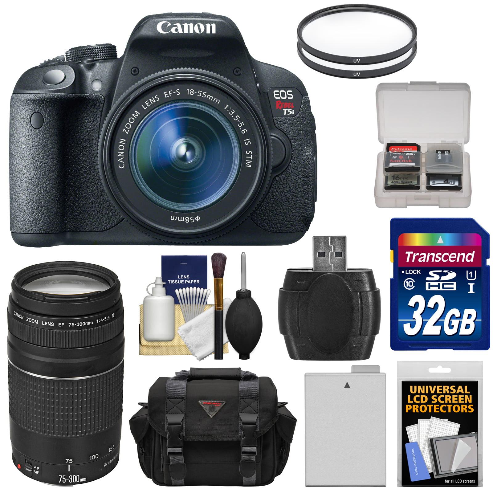 Canon EOS Rebel T5i Digital SLR Camera & EF-S 18-55mm IS