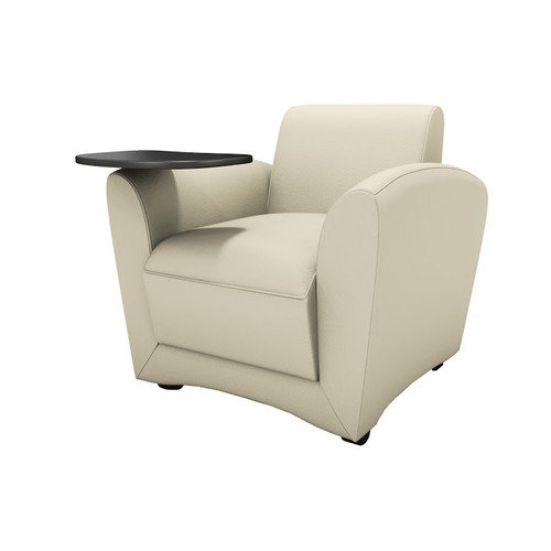 Mayline Group Lounge Series Santa Cruz Mobile Lounge Chair with Tablet