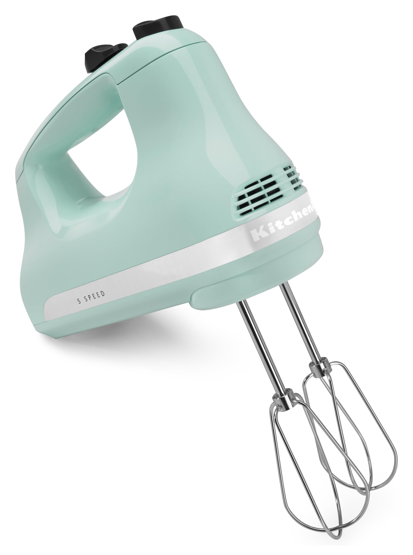 KitchenAid 5-Speed Ultra Power Hand Mixer, Ice (KHM512IC) - Walmart.com