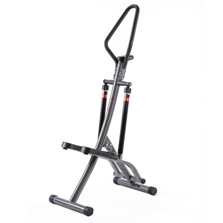 Sunny Health & Fitness SF-1115 Folding Climbing Stepper Step Machine with LCD Monitor (Step Machine)