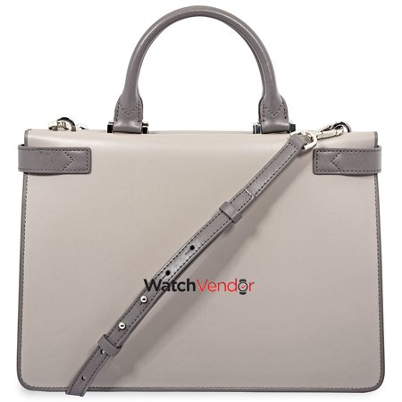 e4c778fa5448 Michael Kors Tatiana Medium Leather Satchel- Grey - image 1 of 4 ...