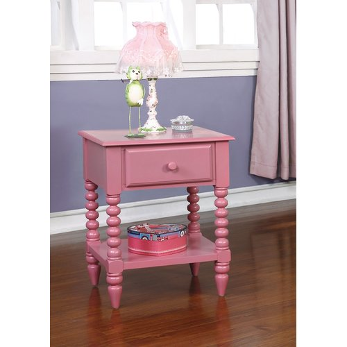 Harriet Bee Brower 1 Drawer Nightstand