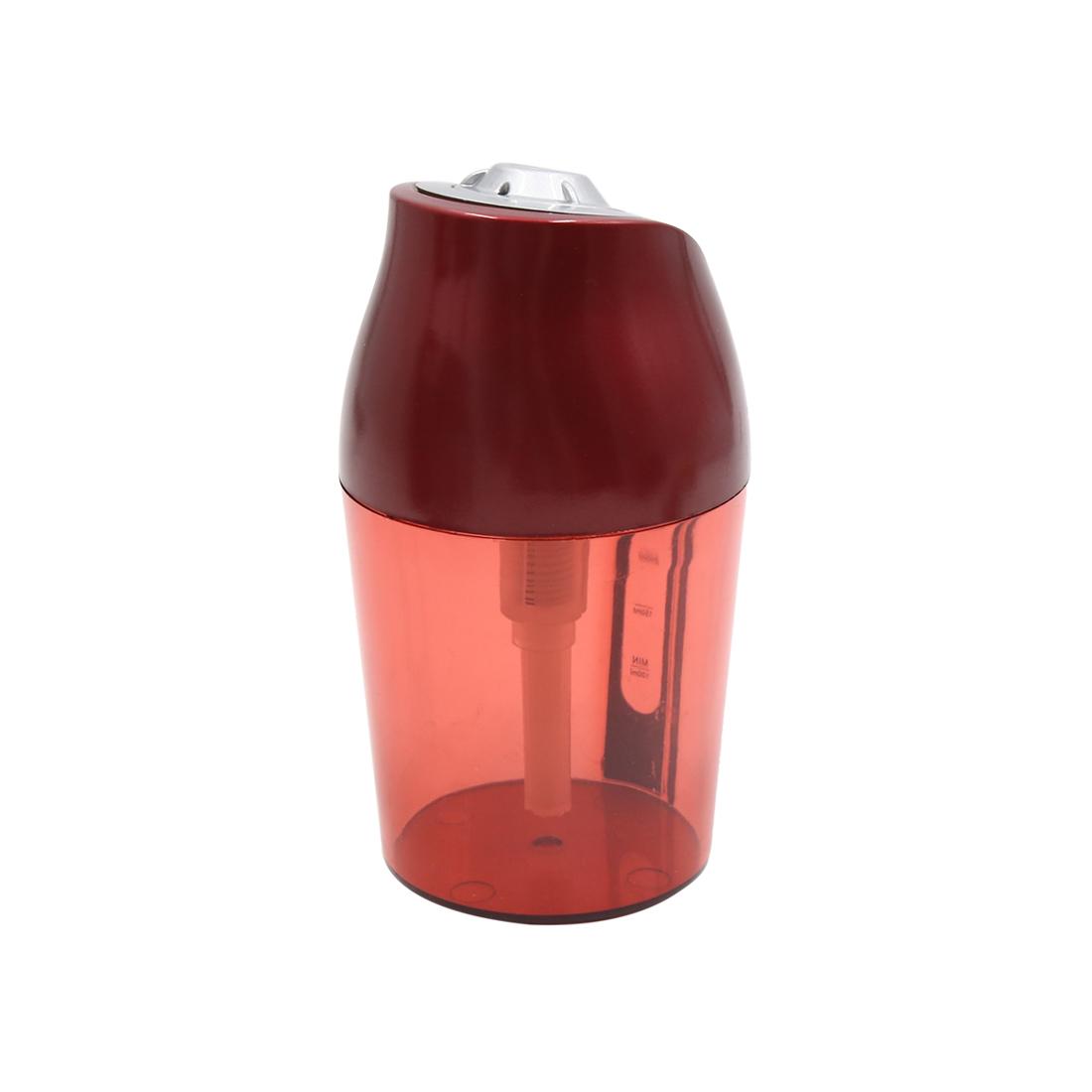 Red Mini Ultrasonic Car Air Mist Purifier Humidifier Diffuser 5V 250ml 0.2W - image 1 de 4