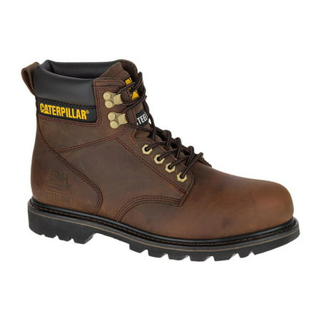 29a00be1457 Caterpillar Men's Footwear Second Shift Steel Toe Slip Resistant Work Boots