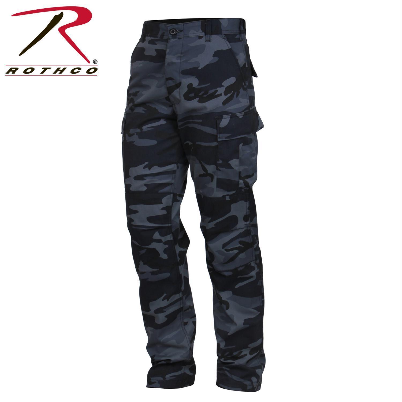 Ultra Violet Camo BDU Pants, Military Fatigues