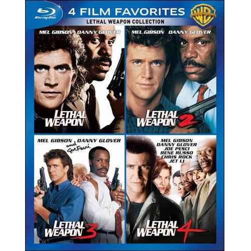 4 Film Favorites: Lethal Weapon 1 - 4 (Blu-ray) (Widescreen)