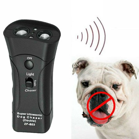 Ultrasonic Anti Dog Barking Pets Trainer LED Gentle Pet gentle Sonic Tools