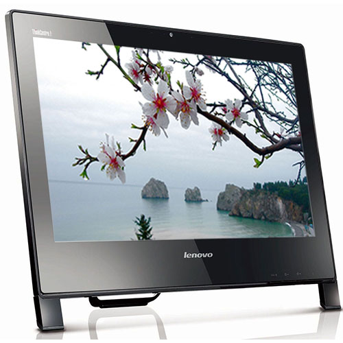 """Lenovo ThinkCentre Edge E93z 21.5"""" HD All in One Desktop Computer with a Core i3 3.4GHz Processor 8GB of RAM 500GB Hard Drive and Windows 10 Pro - Refurbished PC"""