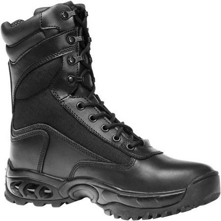 Ridge Black Water/Bloodborne Pathogen Resistant Leather Boots - M9 W10.5 Wide
