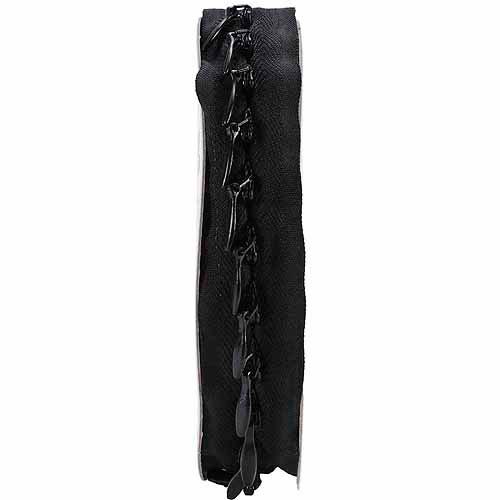 Make-A-Zipper Kit Invisible 4-1/2yd-Black