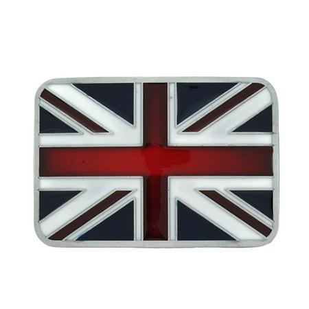 British Flag Union Jack Belt Buckle England ()