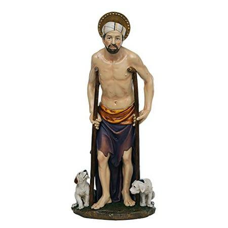 St  Lazarus of Bethany Catholic Religous Figurine Sculpture 12 Inch