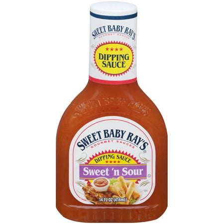(3 Pack) Sweet Baby Ray's Dipping Sauce, Sweet 'n Sour, 14 Fl (Beef Sweet Sauce)
