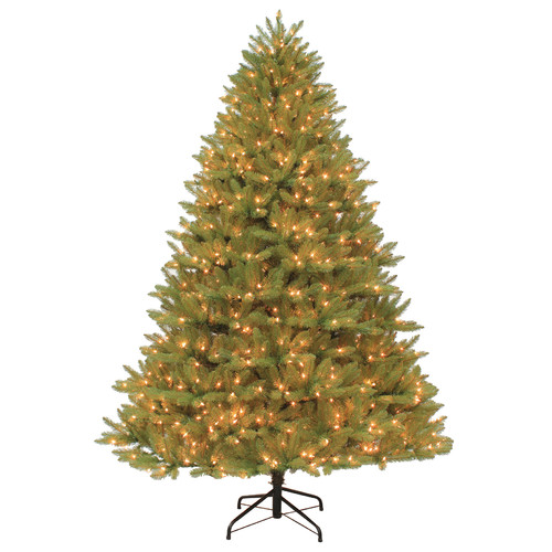 Dyno Seasonal Solutions 9' Green Spruce Artificial Christmas Tree with 1700 Clear Lights with Stand
