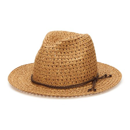 San Diego Hat Company /Womens Core/Fedora, panama - natural